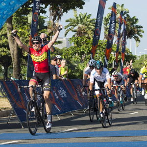 Victory at Tour Durban