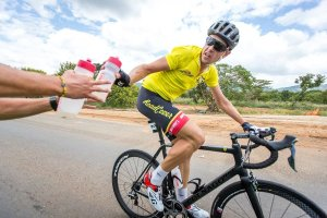 Mpumalanga Tour - Wearing the leaders jersey